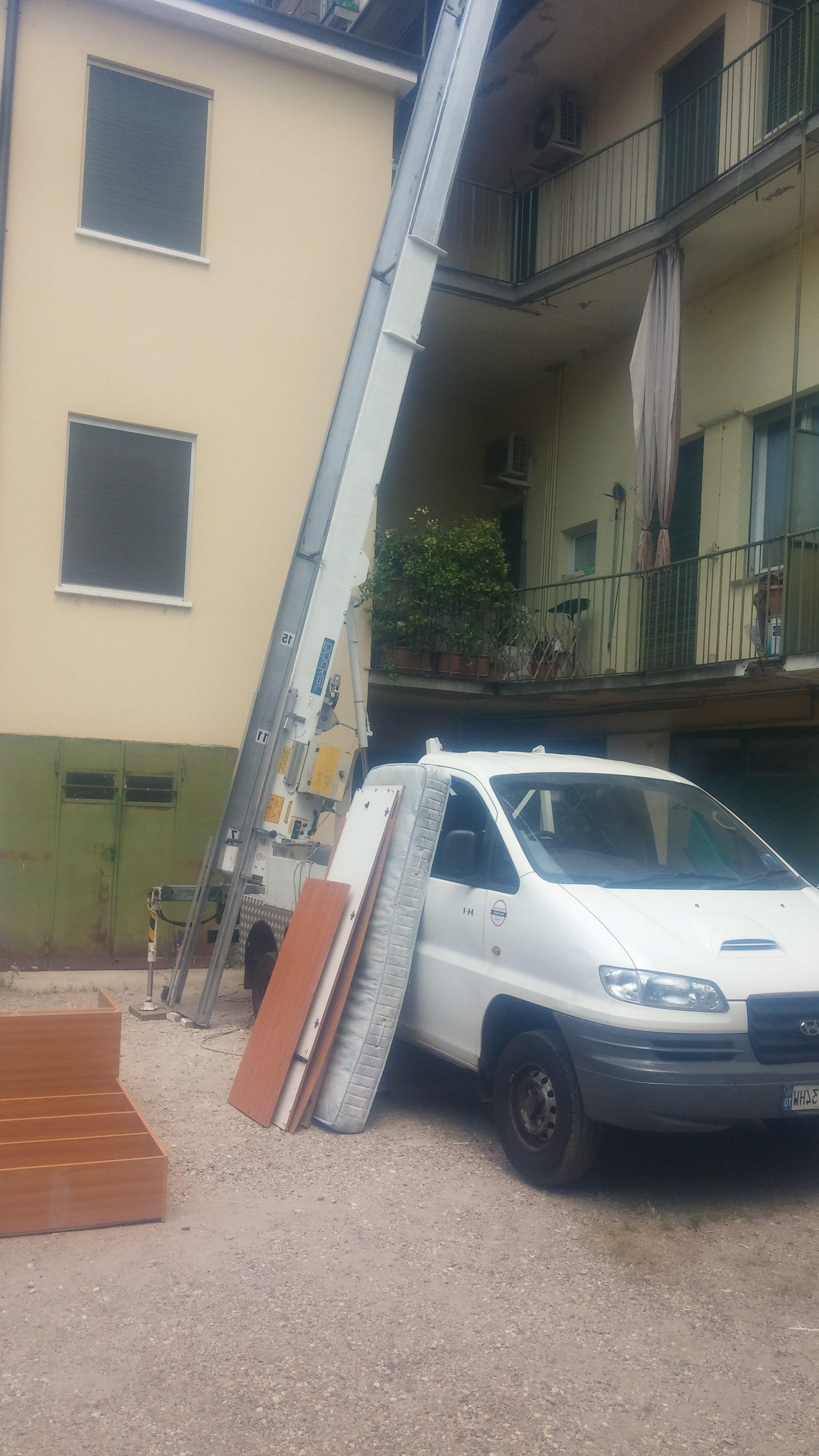 Noleggio Autoscala Per Traslochi Milano Preventivi Grtuito